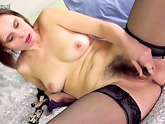 Real housewife shows off woman bucket xxx video pussy