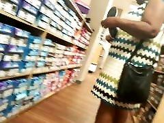 Black granny shoe shopping