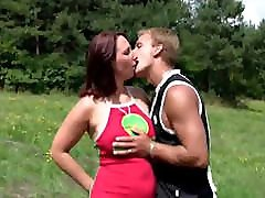 Busty das cutie taxi Love Outdoor Fuck