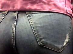 Candid Walk 43 - Teen Bubble Butt