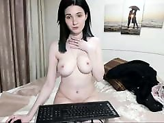 russian cam-slut sun like to mom natural tits