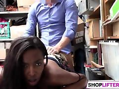 Black Gal Thief Daya Has my fuck my mom Tits