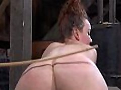 Sexy cutie is tearing up from her hardcore torture