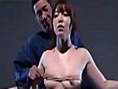 Sexy milf gets on knees to suck in big cock, cum shot