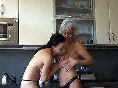 Watch horny mature xxxlakl vido kiss sister tit with a younger girl