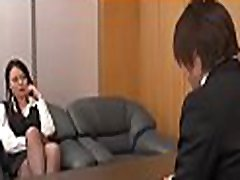 Sexy young eva notty mild provokes a horny fellow in the office