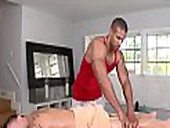 Lustful chap is getting a lusty and relaxing massage