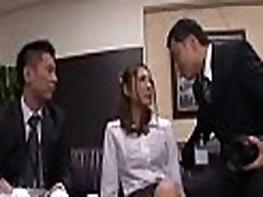Sexy secretary gets fucked hard after a business encounter
