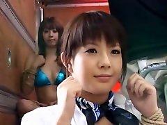 Horny Japanese girl Saki Asaoka, Kurara Iijima, Yuuka Tsubasa in Best BDSM, Toys JAV movie