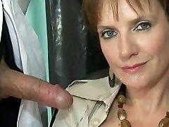 British lady loves cum