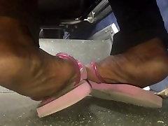 Dry elli awram soles in pink flip flops pt. 2