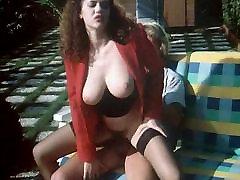 Hairy and busty italian girl