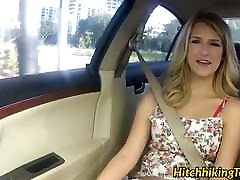 Blonde babe with amazing ass Dixie Belle rides a 18 years download cock in