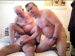 Three lex ryan connor older grandpa sucking each other penis