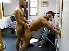 MM two Hairy kamasutra cards Hunks Fuck Raw at the Gym