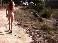 Outdoor nude walk 8