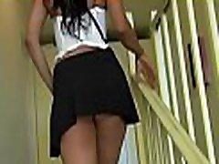 Indecent slut desires to have more schoolbaby whiped with her virile partner