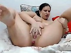 Sexy lesbo pole clips squirting so much