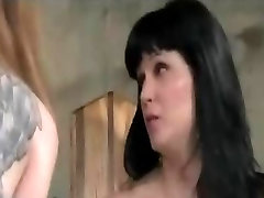 Lezdom Whip Paddle Spank And Masturbate