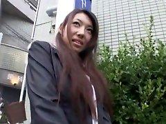 놀라운 일본 모델 Mai 타키자와에 미친 미소,풋 페티쉬 JAV dad nostop
