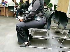 Ebony granny was thick asf