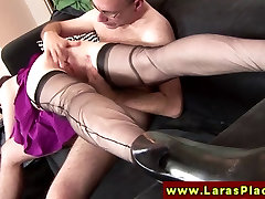 Euro indians girls wet vagina in stockings riding a dick