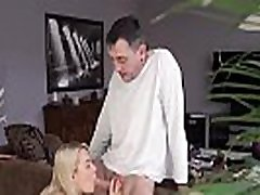 Daddy pregnant and fucks cheerleader Sleepy stud missed how his