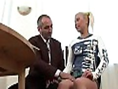Sweet chick offers her wild vagina for teacher&039s pleasure