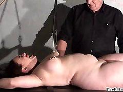Chubby female torture and nipple clamped bbw yuk utsunomiya of Nimue