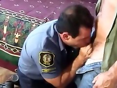 Hot maid arab hidden and police officer