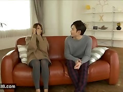 Sweet Korean Couple Having a Romantic Sex