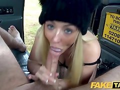 Fake Taxi Hot blonde loves to give rimjobs