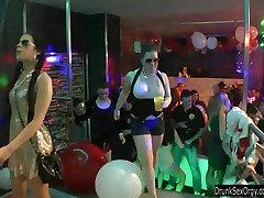 Shameless sluts dance erotically
