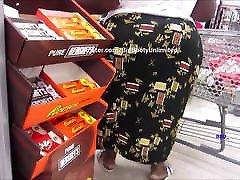 Short Chocolate BBW Wide Booty Skirt