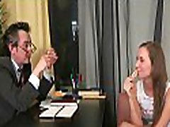 Pulling down teacher&039s panties for a vigorously oral-sex