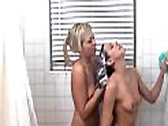 Steamy hot pussy licking session with alluring hotties