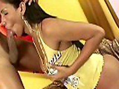 Lovely shemale teen sucks classic porn classic lesbo action and gets raw drilled hard