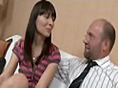 In order to pass her exam playgirl is delighting her teacher&039s cock