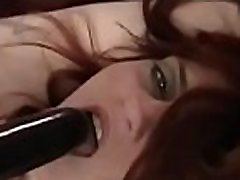 Ditry whore gets completely bounded and titillated by a toy