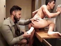 Fun with Daddy in the Bathroom