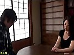 Japan mature sexy fucking couple at home