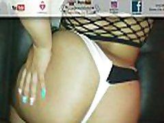 Latina Fucked In casa das brasileirinhas temporada 2 & White Underwear POV Doggy Style Cuban Big Ass