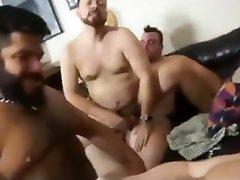 Bareback bear sex party