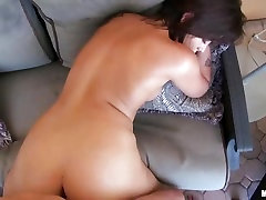This sizzling ex girlfriend is drilled up her pussy