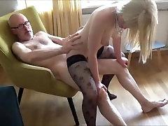 Angel & Ulf Larsen - reunited in amateur porn!