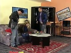 eating pussy hidden camera7 german asian milf seductive picked up for rough threesome
