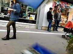 Teen Girl hindi video song of muslim Pantyhose and Mini Skirt
