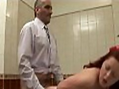 Older teachers are getting wild blowjob from sweet babe