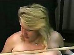 Nude woman spanking video with bizarre thraldom
