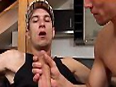 Young homo is giving gay man an erotic jock riding session